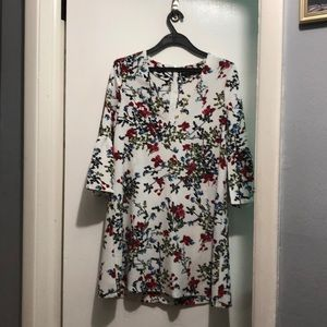 PRETTY LITTLE THING floral dress.